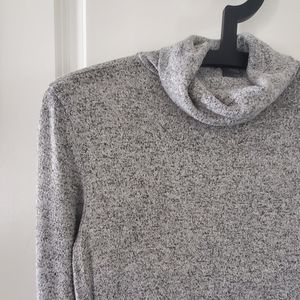 Grey American Eagle Turtleneck Dress
